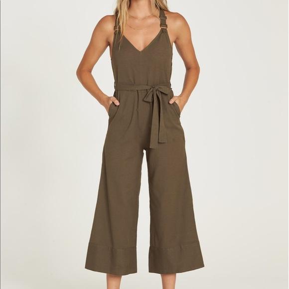 90ff8d7eb5f Billabong Pants - Billabong Bella Day Jumpsuit